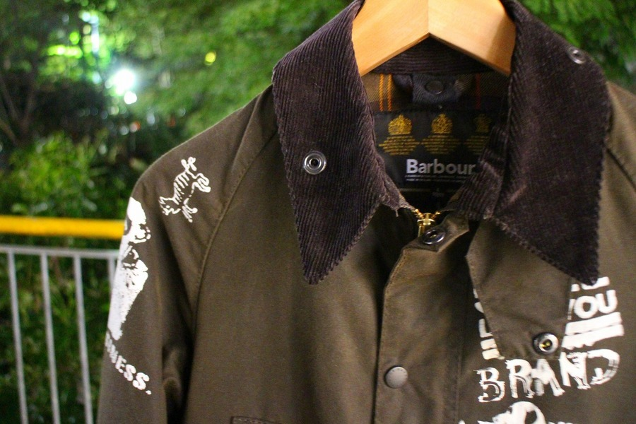 「レアアイテムのBarbour×beautiful people 」