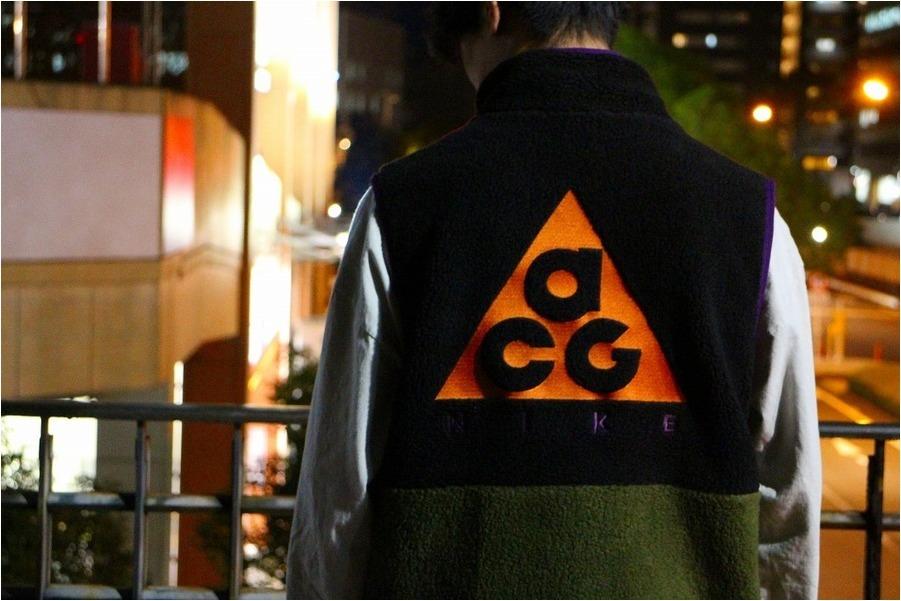 「ストリートブランドのNIKE ACG 」