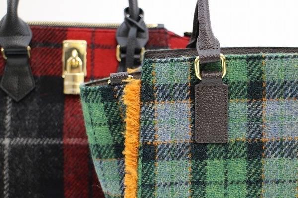 ハリスツイードのブランドバッグ