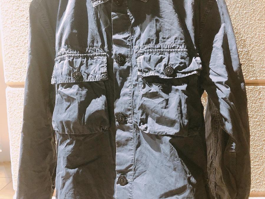 ストーンアイランドのミリタリーシャツジャケット