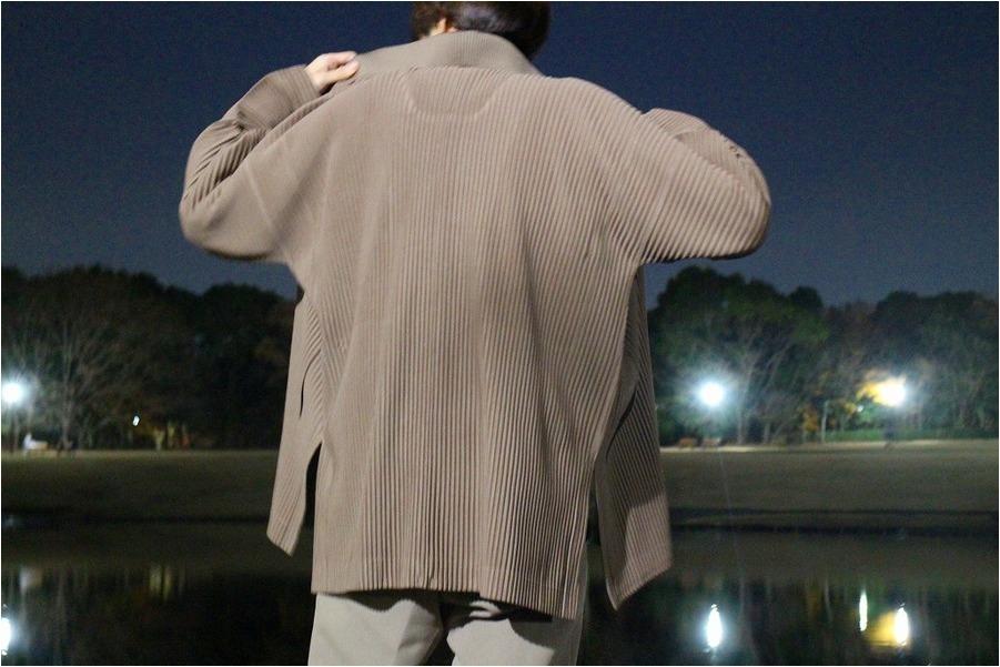 オム プリッセ イッセイ ミヤケのジャケット