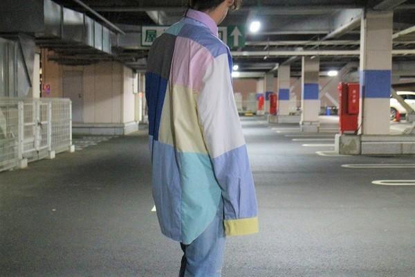 リビルド バイ ニードルスの再構築オックスフォードシャツ