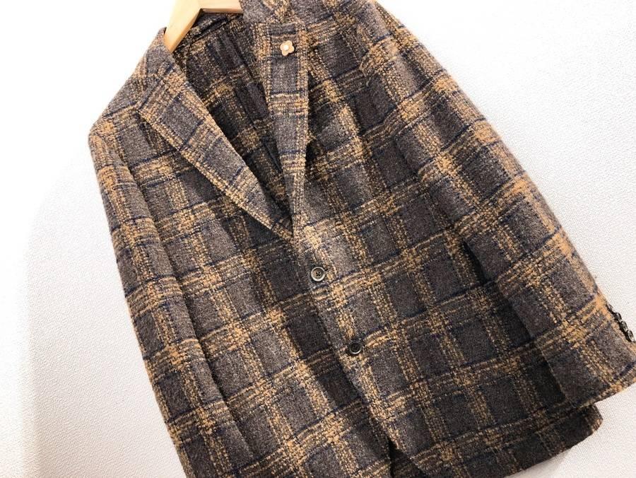 秋に大活躍間違いなし。LARDINI/ラルディーニよりウールアンコンジャケットのご紹介。