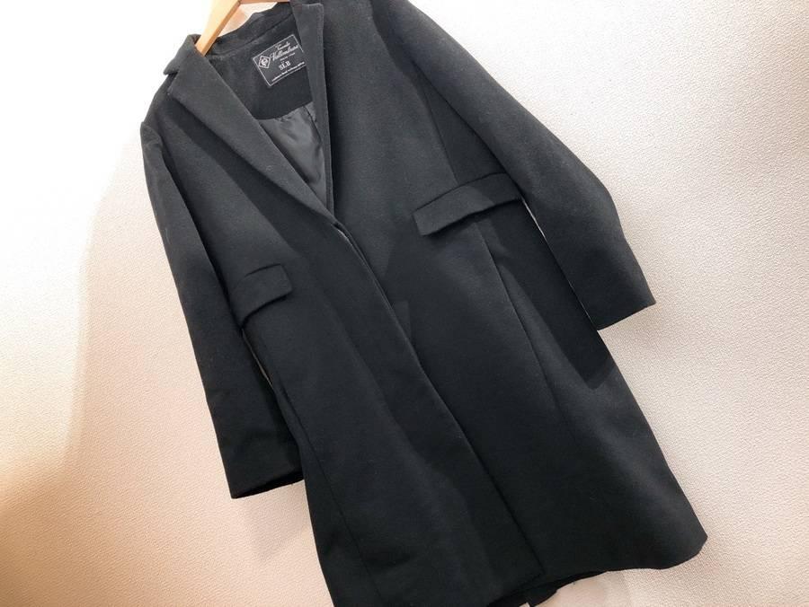 IENA/イエナよりイタリア製伝統的ウール使用のこだわりのチェスターコートのご紹介です。