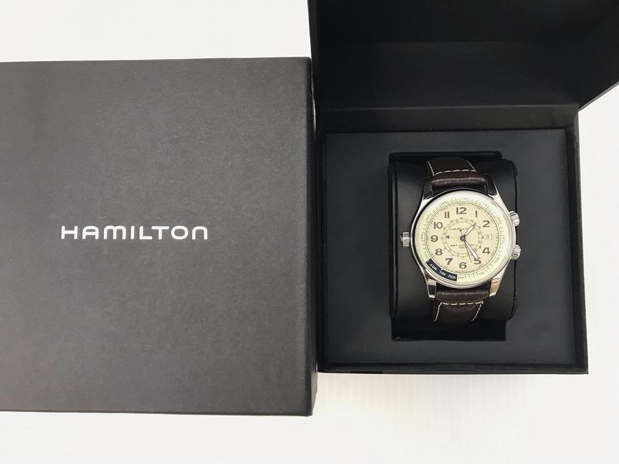 HAMILTON(ハミルトン)働く男性の憧れの腕時計入荷致しました!!