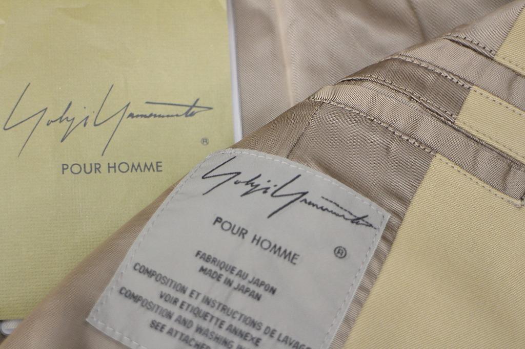 《yohji yamamoto pour homme/ヨウジ ヤマモト プールオム》デザイナーズ感満載!ヨウジのコート入荷!