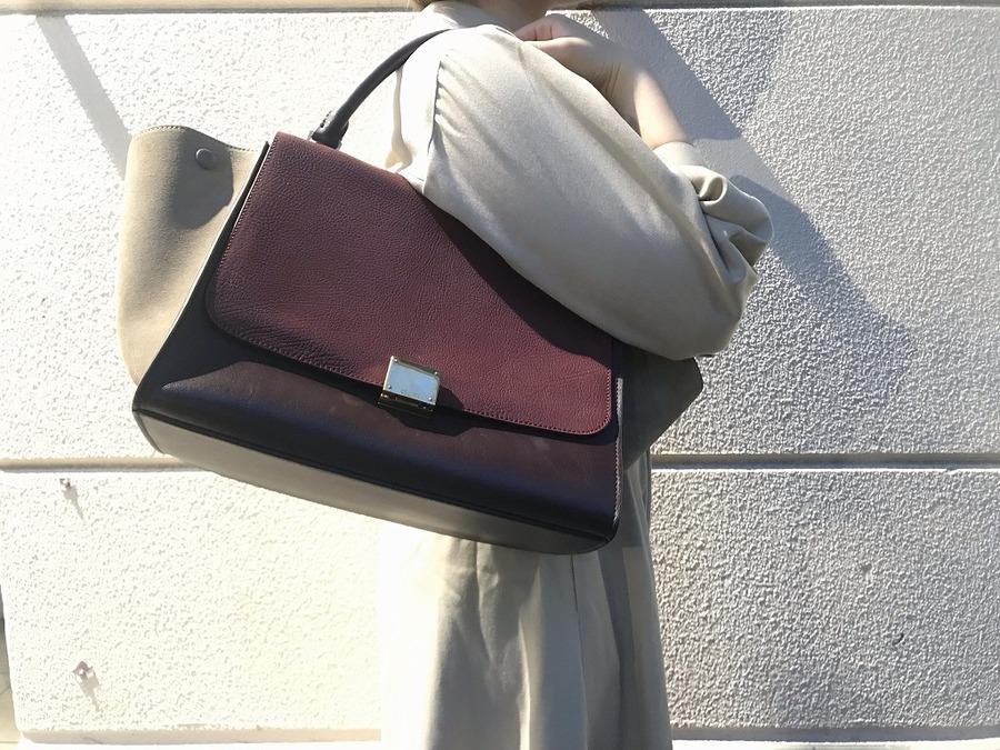 【CELINE/セリーヌ】トラペーズミディアムバッグ 入荷致しました♪