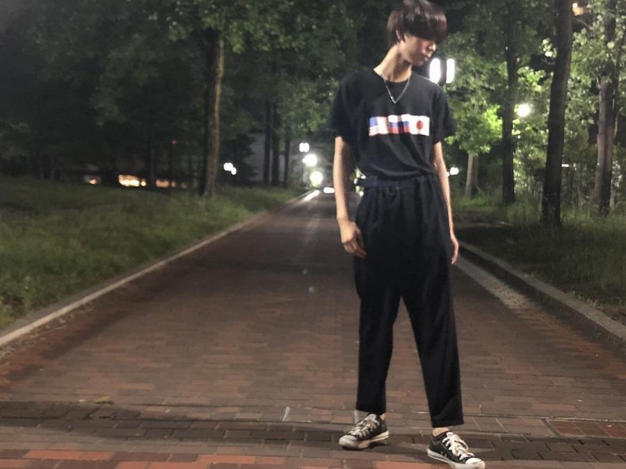 【Graphpaper/グラフペーパー】今着たいブランド!!!クリーンなデザインのワイドパンツ!!