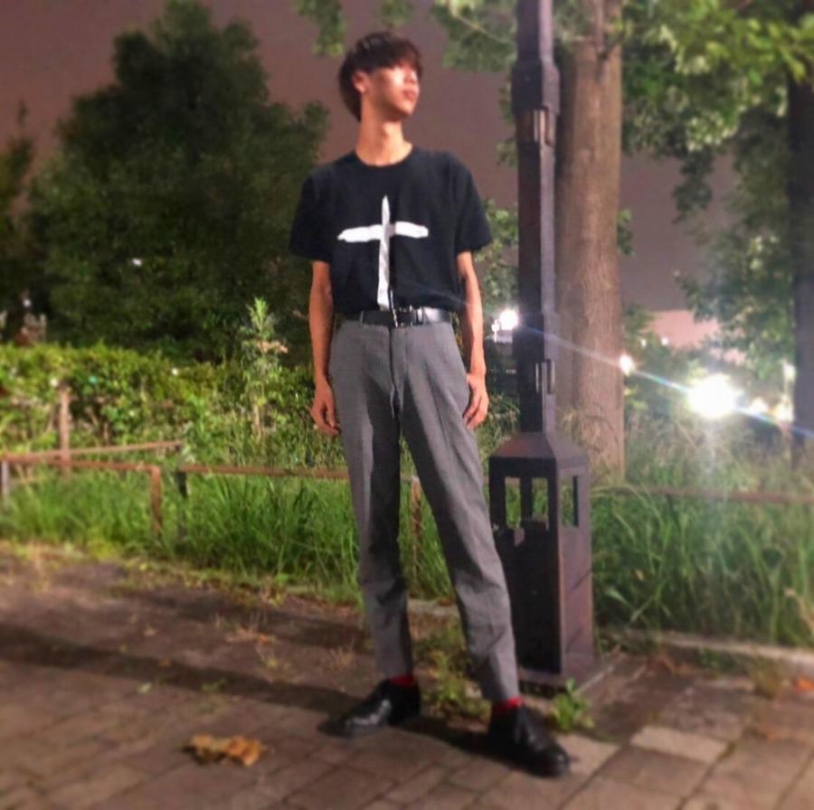 【black market COMME des GARCONS/ブラックマーケットコムデギャルソン】クロスプリントTシャツ入荷!!