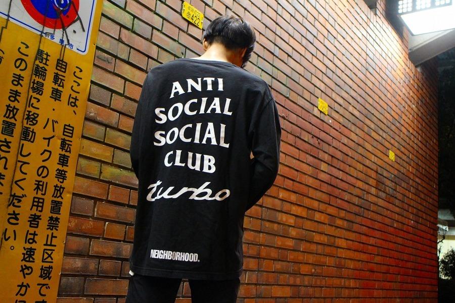 レアコラボ!!【ANTI SOCIAL SOCIAL CLUB × NEIGHBORHOOD/アンチソーシャル ソーシャルクラブ×ネイバーフッド】