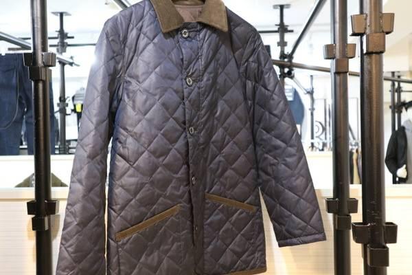 「MACKINTOSHのキルティングジャケット 」