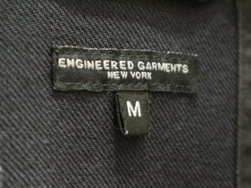 Engineered Garmentsのエンジニアドガーメンツ