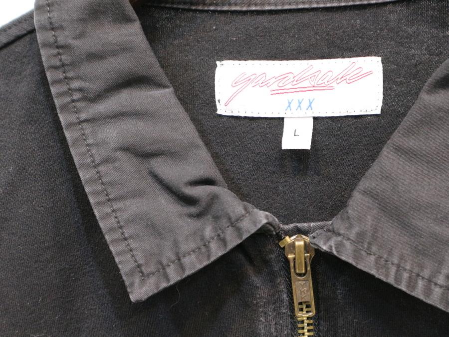 ヤードセールのハーフジップシャツ
