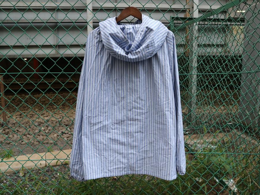 アンユーズドのstripe pullover jacket