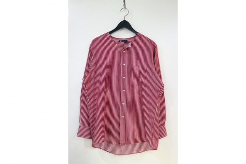 ラルフローレンのバンドカラーシャツ