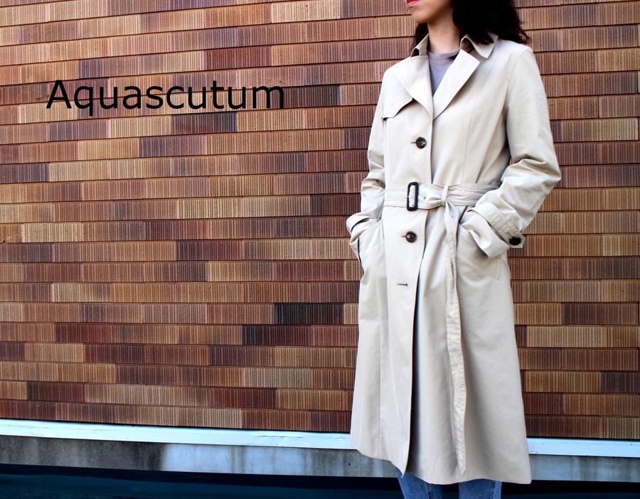 「キャリアファッションのAquascutum 」
