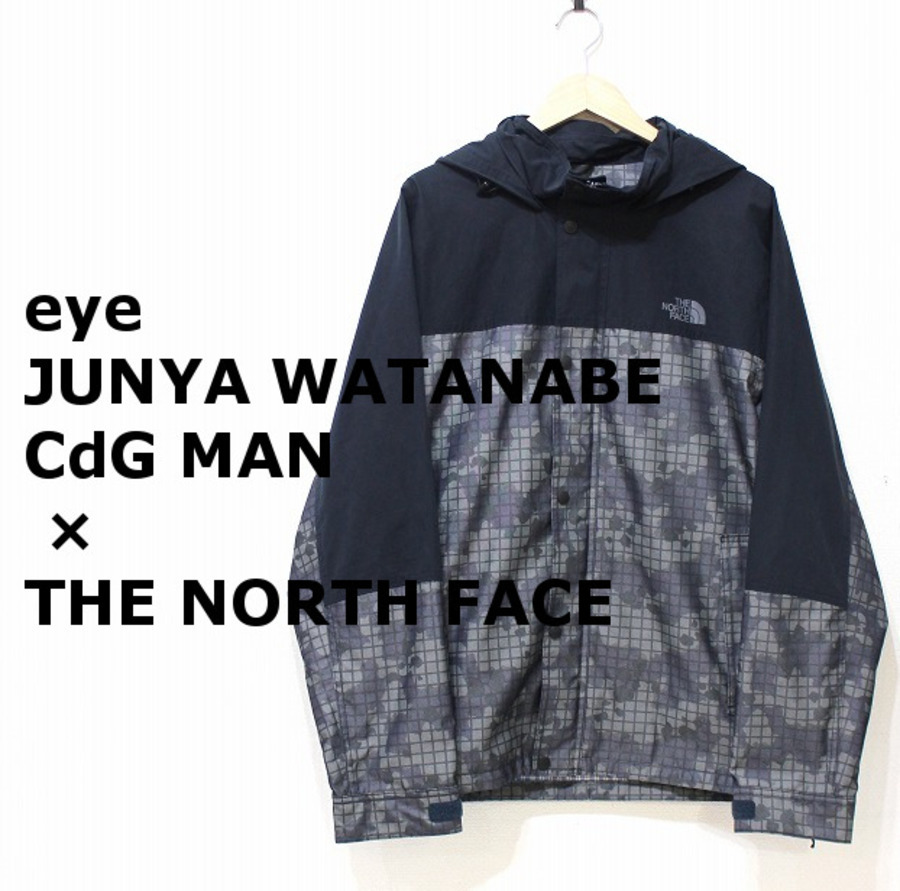 「ドメスティックブランドのeYe JUNYA WATANABE CdG MAN×THE NORTH FACE 」