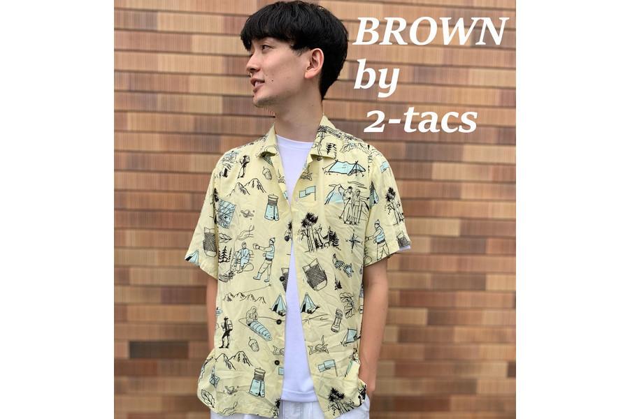 「アメカジブランドのBROWN by 2-tacs 」