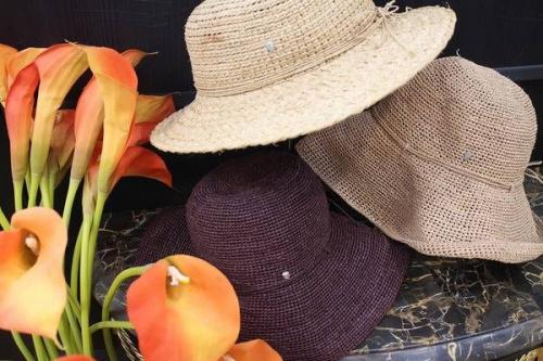レディースの帽子