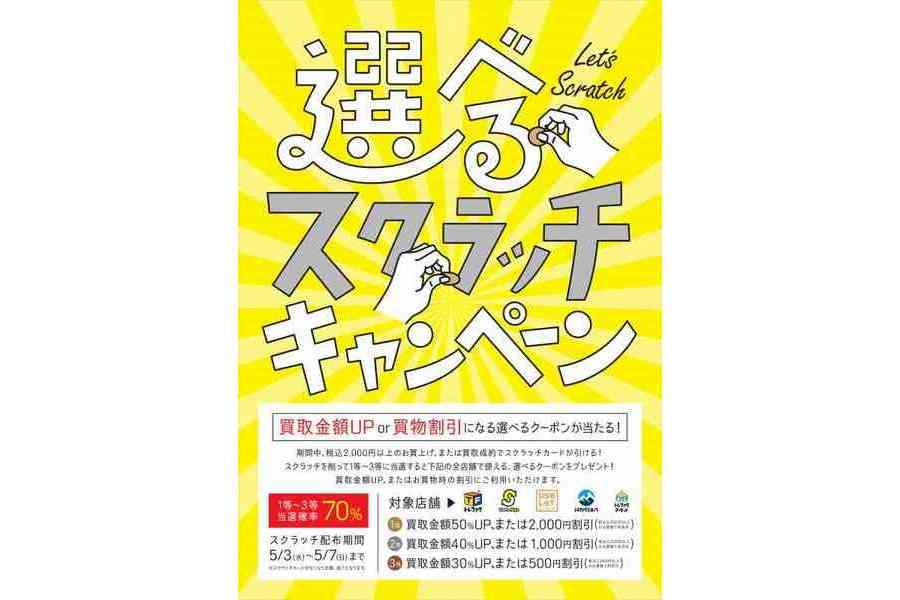 【SALE】見なきゃ損!!!GWキャンペーン大盛況!!!土日もトレファクスタイル箕面店へ!