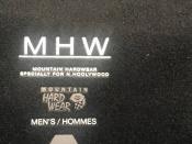 MOUNTAIN HARDWEAR×N.HOOLYWOOD(エヌハリウッド)のコラボジャケット入荷。