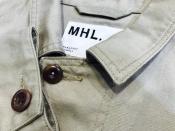 MHL/エムエイチエルのコートが入荷しました!!