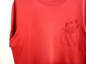 大人気LOUIS VUITTON モノグラムポケットTシャツ!