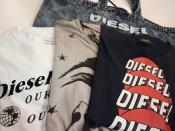 DIESEL(ディーゼル)よりTシャツ、バッグが入荷!!