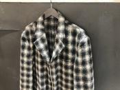 今秋おススメのOMME des GARCONS HOMME(コムデギャルソン オム)の90'sウールデザインチェックジャケット