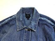 雑誌掲載!!オーバーサイズで人気のデニムジャケット入荷!ARMANI EXCHANGE(アルマーニエクスチェンジ)