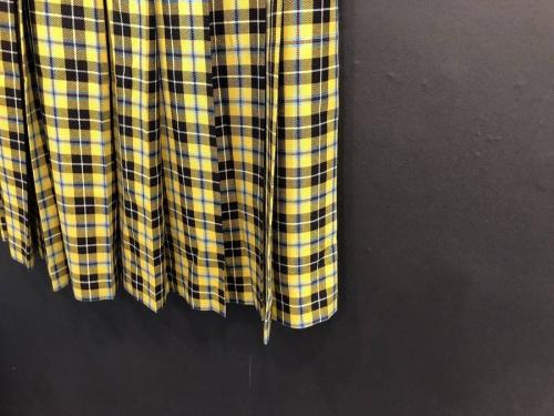 ギャルソンのチェック スカート