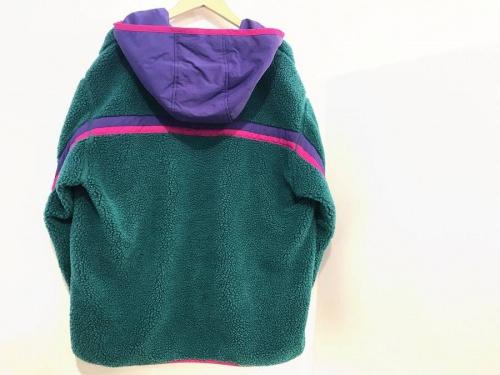 エックスガールのフリースジャケット