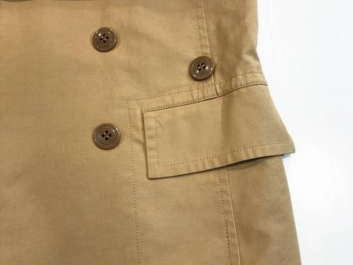 バーバリーのトレンチジャケット