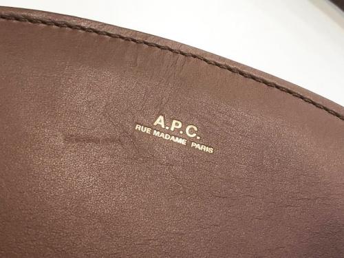 APC(アーペーセー)のレザーバッグ