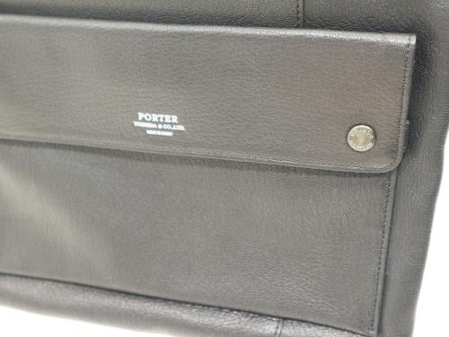ポーターのレザーショルダーバッグ