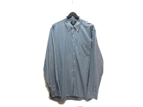 ダブルアールエルのストライプシャツ