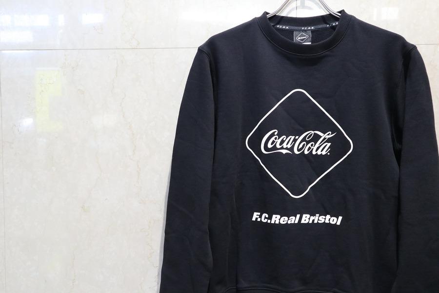 「ストリートブランドのFCRB × coca cola 」