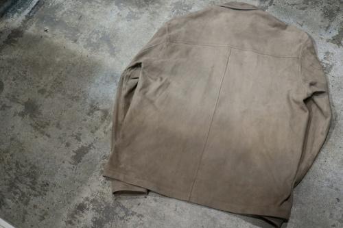 トゥモローランドのスウェードジャケット