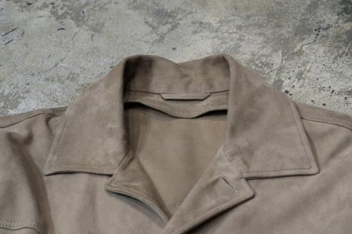 スウェードジャケットの2019SS