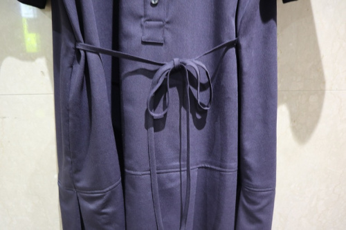 Aラインバンドカラードレスのレディース