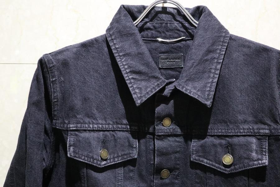 サンローランのデニムジャケット