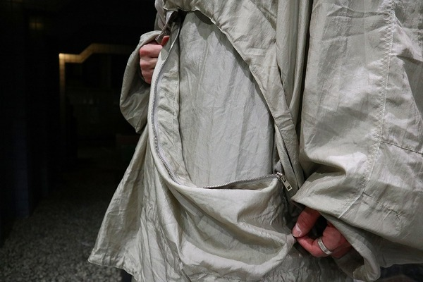 pulloverer hood coatのアノラックコート
