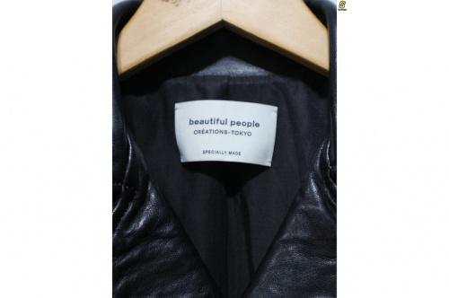 ビューティフル ピープルのvintage leather riders jacket