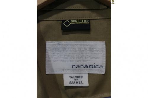 ナナミカのGORE-TEXトレンチコート