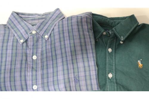ポロ・ラルフローレンの半袖シャツ