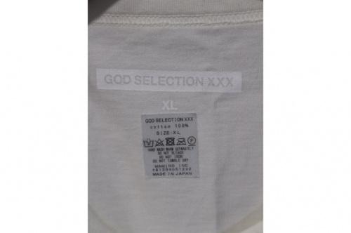 ゴットセレクショントリプルエックスのプリントTシャツ