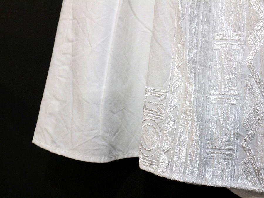 コットンタイプライター刺繍ロングスカートのトレファクスタイル江古田店