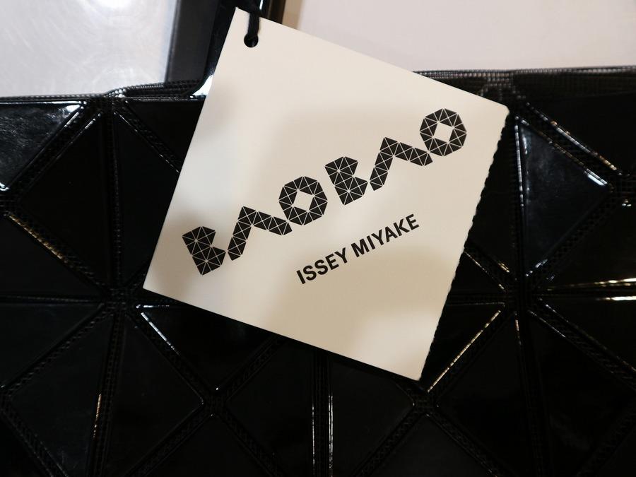 バオバオイッセイミヤケのパターントートバッグ