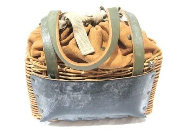 「ebagos(エバゴス)のかごバッグ 」