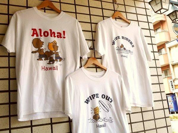「日焼けスヌーピーのTシャツ 」